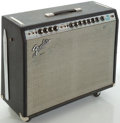 Musical Instruments:Amplifiers, PA, & Effects, Late 1970's Fender Twin Reverb Silverface Guitar Amplifier,#A38906....