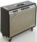 Musical Instruments:Amplifiers, PA, & Effects, 1970's Fender Vibrolux Reverb Silverface Guitar Amplifier,#A25226....