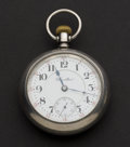 Timepieces:Pocket (post 1900), Hamilton 21 Jewel Sterling 18 Size Model 940 Pocket Watch. ...