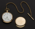 Timepieces:Pendant , Waltham 23 Jewel Vanguard 18 Size Pocket Watch. ...