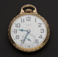 Timepieces:Pocket (post 1900), Elgin 21 Jewel B.W. Raymond Pocket Watch. ...