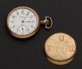 Timepieces:Pocket (post 1900), Illinois 21 Jewel Hunter's Movement Pocket Watch. ...