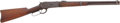 Long Guns:Lever Action, Winchester Model 1886 Saddle Ring Carbine....