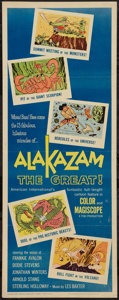 "Movie Posters:Animated, Alakazam the Great (American International, 1960). Insert (14"" X 36""). Animated.. ..."