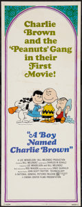 """Movie Posters:Animation, A Boy Named Charlie Brown (National General, 1969). Insert (14"""" X36""""). Animation.. ..."""