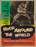 """Movie Posters:Rock and Roll, Rock Around the World (American International, 1957). Poster (30"""" X39.5""""). Rock and Roll.. ..."""