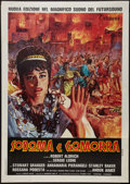 "Movie Posters:Historical Drama, Sodom and Gomorrah (Titanus, 1963). Italian 2 - Foglio (39"" X 55"").Historical Drama.. ..."