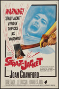 "Movie Posters:Horror, Strait-Jacket (Columbia, 1964). One Sheet (27"" X 41""). Horror.. ..."