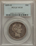 Barber Half Dollars: , 1899-O 50C VF35 PCGS. PCGS Population (9/126). NGC Census: (0/80).Mintage: 1,724,000. Numismedia Wsl. Price for problem fr...