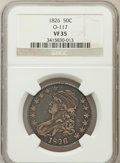 Bust Half Dollars, 1826 50C VF35 NGC. O-117. NGC Census: (26/1290). PCGS Population(78/1484). Mintage: 4,000,000. Numismedia Wsl. Price for p...