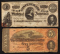 Confederate Notes:1864 Issues, T65 and T69 Notes.. ... (Total: 2 notes)