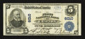 National Bank Notes:Pennsylvania, Crafton, PA - $5 1902 Plain Back Fr. 607 The First NB Ch. # 6010. ...