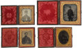 Photography:Ambrotypes, Group Of Four Images Of Civil War Federal Soldiers.... (Total: 4Items)