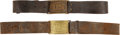 Military & Patriotic:Indian Wars, 2 Model 1875 US Army Waist Belts... (Total: 2 Items)