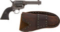 Western Expansion:Cowboy, 101 Ranch Group, Including a Colt Six-Shooter Modified to ShootBlanks. ... (Total: 4 Items)