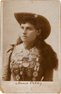 Photography:Cabinet Photos, Annie Oakley: Cabinet Card Photo. ...