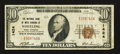 National Bank Notes:West Virginia, Wheeling, WV - $10 1929 Ty. 1 The NB of West Virginia Ch. # 1424....