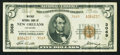 National Bank Notes:Louisiana, New Orleans, LA - $5 1929 Ty. 2 The Whitney NB Ch. # 3069. ...