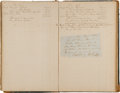 Miscellaneous:Ephemera, Confederate States Navy Paymaster's Account Journal....