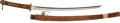 Military & Patriotic:WWII, Vintage Japanese Sword In WWII Officer's Mounts...