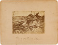 "Photography:Cabinet Photos, Tipton View Of The ""Dead At Devil's Den"" Taken From One Of TheSpurious P. S. Weaver Images...."