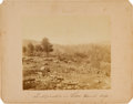 "Photography:CDVs, C. 1870 Albumen Gettysburg View By Tipton of the ""Fortification on Little Round Top""...."