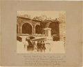 Photography:Cabinet Photos, Very Rare Cook Charleston, S. C. Albumen View of the Interior of Ft. Sumter April 1861. ...