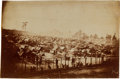 Photography:CDVs, Civil War Period Unmounted Albumen Print By A. J. Biddle Of Andersonville Prison....