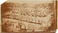 """Photography:CDVs, 4 3/4"""" X 7 3/4"""" Unmounted Albumen View Of Andersonville By A. J. Biddle...."""
