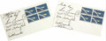 """Autographs:Celebrities, Original """"Mercury Seven"""" Astronauts - Two Project Mercury First DayCovers Signed each authentically by """"J H Glenn Jr."""" ...(Total: 2 Item)"""