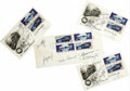 Autographs:Celebrities, Apollo-Soyuz Test Project - Four Signed First Day Covers postmarked July 15, 1975, at Kennedy Space Center, Florida celebrat... (Total: 4 Item)