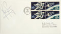 Autographs:Celebrities, Neil Armstrong Signed First Day Cover postmarked September 29,1967, at the Kennedy Space Center, Florida celebrating the re...(Total: 1 Item)