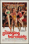 """Movie Posters:Sexploitation, The Swinging Barmaids and Other Lot (Premiere Releasing, 1975). OneSheets (2) (27"""" X 41""""). Sexploitation.. ... (Total: 2 Items)"""