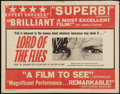 "Movie Posters:Adventure, Lord of the Flies (Continental, 1963). Half Sheet (22"" X 28"").Adventure.. ..."