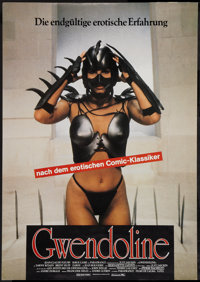 "The Perils of Gwendoline in the Land of the Yik Yak (Constantin, 1985). German A1 (23"" X 33""). Action"