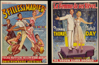"""I'll See You in My Dreams & Other Lot (Warner Brothers, 1952). Belgian (2) (14"""" X 22""""). Musical. ... (..."""