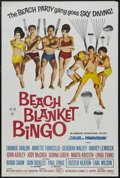 """Movie Posters:Comedy, Beach Blanket Bingo (AIP, 1965). One Sheet (27"""" X 41""""). Comedy.Starring Frankie Avalon, Annette Funicello, Deborah Walley a..."""