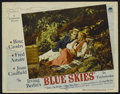 """Movie Posters:Musical, Blue Skies (Paramount, 1946). Lobby Card (11"""" X 14""""). Musical.Starring Bing Crosby, Fred Astaire, Joan Caulfield and Billy ..."""