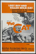 "Movie Posters:Adventure, The Cat (Embassy Pictures, 1966). One Sheet (27"" X 41""). Adventure.Starring Roger Perry, Peggy Ann Garner, Barry Coe and Dw..."