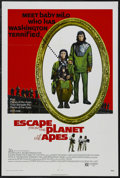 """Movie Posters:Science Fiction, Escape from the Planet of the Apes (20th Century Fox, 1971). OneSheet (27"""" X 41""""). Science Fiction. Starring Roddy McDowall..."""
