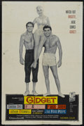 "Movie Posters:Cult Classic, Gidget (Columbia, 1959). One Sheet (27"" X 41""). Comedy. Starring Sandra Dee, James Darren, Cliff Robertson and Arthur O'Conn..."