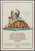 "Movie Posters:Drama, Hawaii (United Artists, 1966). One Sheet (27"" X 41""). Drama. Starring Julie Andrews, Max von Sydow, Richard Harris, Carroll ..."
