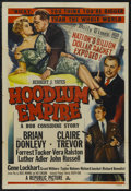 "Movie Posters:Film Noir, Hoodlum Empire (Republic, 1952). One Sheet (27"" X 41""). Film Noir.Starring Brian Donlevy, Claire Trevor, Forrest Tucker and..."