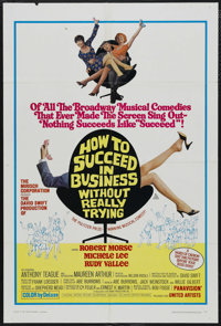 """How to Succeed in Business Without Really Trying (United Artists, 1967). One Sheet (27"""" X 41""""). Musical Comedy..."""