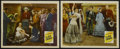 "Movie Posters:Western, In Old Caliente (Republic, R-1948). Lobby Cards (2) (11"" X 14""). Western. Starring Roy Rogers, Mary Hart, George 'Gabby' Hay... (Total: 2)"