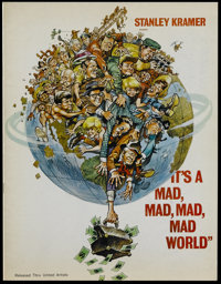 It's a Mad, Mad, Mad, Mad World (United Artists, 1963). Program (Multiple Pages). Comedy. Starring Spencer Tracy, Milton...