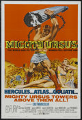 """Movie Posters:Action, Mighty Ursus (United Artists, 1962). One Sheet (27"""" X 41""""). Action Adventure. Starring Ed Fury, Cristina Gajoni, Moira Orfei..."""