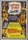 "Movie Posters:War, The Naked Brigade (Universal, 1965). One Sheet (27"" X 41""). War.Starring Shirley Eaton, Ken Scott, Mary Chronopoulou, John ..."