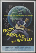 "Movie Posters:Musical, Rock Around the World (AIP, 1957). One Sheet (27"" X 41""). Musical.Starring Tommy Steele, Patrick Westwood, Tom Littlewood a..."