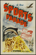 "Movie Posters:Documentary, Sports Parade Stock Poster (Vitagraph, 1940). One Sheet (27"" X 41""). Documentary Short. Produced by Gordon Hollingshead. Dir..."